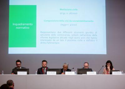 Convegno Mediazione Civile Roma 2018 - palco relatori