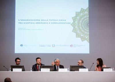 Convegno Mediazione Civile Roma 2018 - palco relatori 2